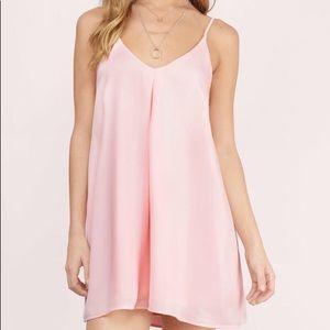Tobi Cami pink shift dress
